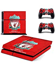 Liverpool F.C. Playstation 4 Vinyl Skin Sticker Decal For Ps4.