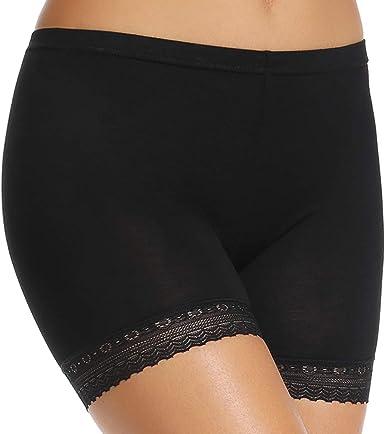 WOWENY - Bragas de algodón para Debajo de la Falda para Mujer, sin ...