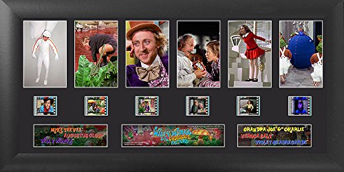 Willy Wonka and the Chocolate Factory Deluxe Film Cell Presentation Film Cell Factory