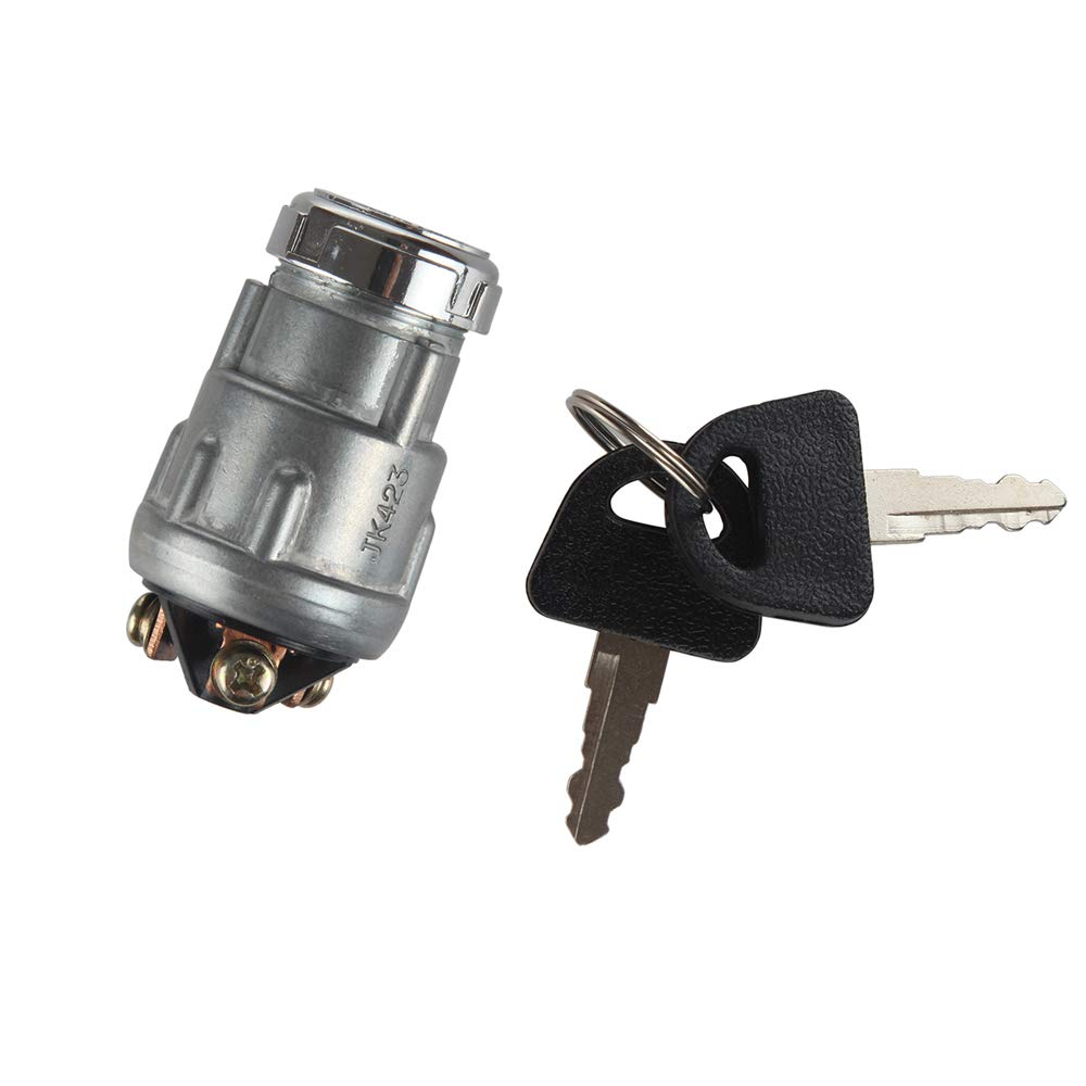 MIDIYA Universal 3 Wire Engine Ignition Starter Switch for Car, Motorcycle, Tractor, Forklift, Truck, Scooter, Trailer, Agricultural ,Modified Car, 50cc 90cc 110cc 125cc 150cc 250cc Pit Quad Go Kart UTV Moped Buggy
