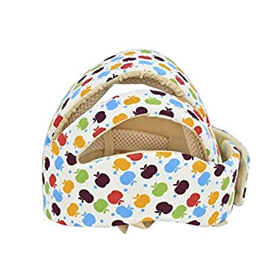WEIYI Creative Adjustable Baby Head Protector Toddler Helmet Baby Helmet (Colorful)