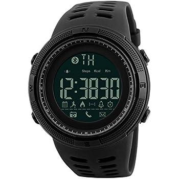 Mastop Men Outdoor Sport Smart Watch Fashion Digital Watches Fitness Tracker Bluetooth ios 4.0 Android Waterproof