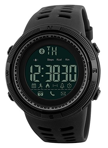 Mastop Men Outdoor Sport Smart Watch Fashion Digital Watches Fitness Tracker Bluetooth ios 4.0 Android Waterproof Wristwatch