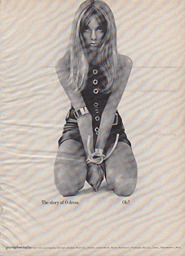 The Story of O dress. Oh? Paraphernalia ad 1964