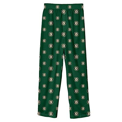 (MLB Infant/Toddler Boys' Oakland Athletics Printed Pant, Green, Large)