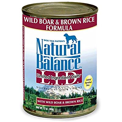 Natural Balance Buffalo/Potato Formula Dog Food, 13 oz