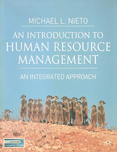 An Introduction to Human Resource Management: An...