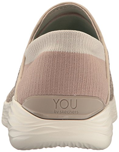 8 Mujer Skechers Beis You para Zapatos US Caminar 4rz6tWr