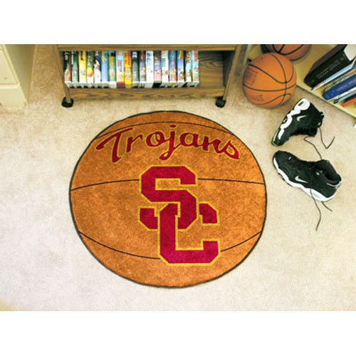 Fanmats University of Southern California Basketball Mat - 1349 (Southern University Basketball Rug)