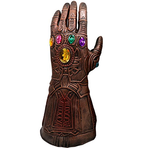 baellerry Christmas Costume Infinity War Thanos Infinity Gauntlet Gloves Xmas Gifts for Kids Children (Bronze) ()