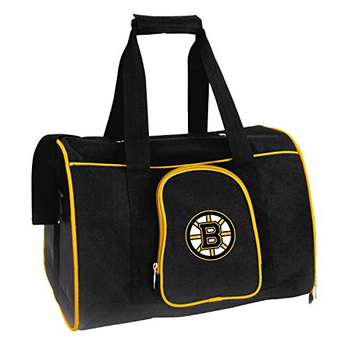 Denco NHL Boston Bruins Premium Pet Carrier ()