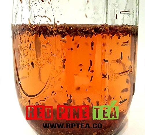 Organic Rooibos Tea Red Bush Tea, Aspalathus linearis, Decaffeinated Caffeine Free - Premium Loose Leaf Tea (5LB) by Red Pine Tea Co. (Image #3)