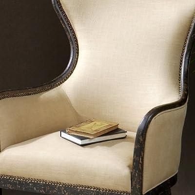 Uttermost 23051 Zander Tan Wingback Armchair