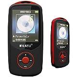 Hongyu 4GB Hi-Fi Bluetooth MP3 Player with FM Radio - Red