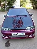 Star Wars Car Side Vinyl Graphics Vehicle Wrap Car Side Design G7382