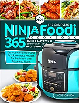 Amazon.com: The Complete Ninja Foodi Cookbook #2020: 365 ...