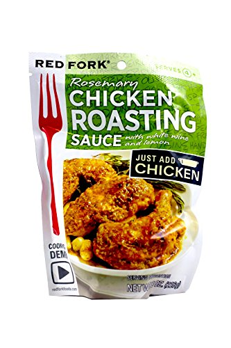 Red Fork Seasoning Sauce, Rosemary Chicken , 8 Ounce (Pack of 6) (Best Way To Cook Canned Asparagus)
