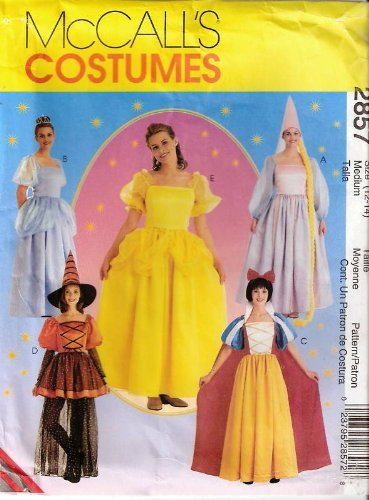 McCall's 2857 Misses' Storybook Costumes Sewing Pattern (Size 12-14) Bust -