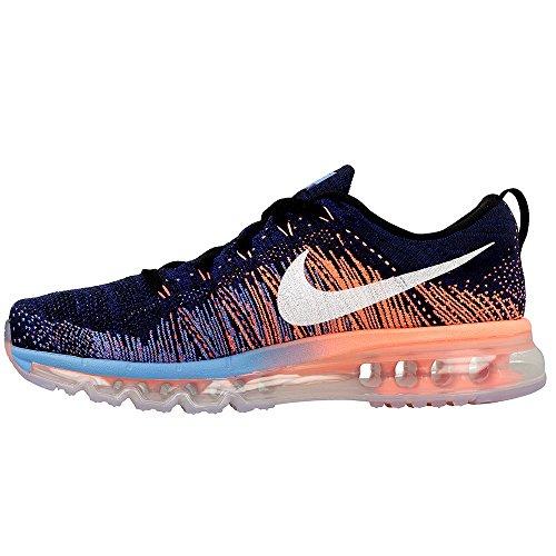 Nike - Flyknit Max - 620469008 - Colore: Arancione-Blu marino - Taglia: 46.0