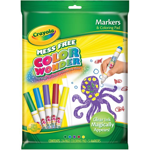 Binney Smith Crayola Color Wonder Markers And Paper