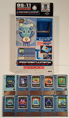 Megaman Operation Battle Advanced PET Starter Deck - Aquaman (OS-11) (Rockman EXE Axess 2004) by Takara (Image #1)