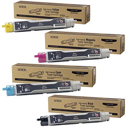 Xerox 106R01147, 106R01144, 106R01145, 106R01146 Toner Cartridge Set - Phaser - Toner 106r01146 Laser