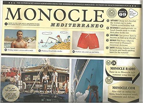 Amazon.com: Monocle Mediterraneo # 9 (2014): Various: Books