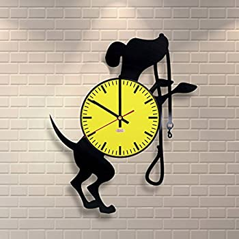 Amazon.com: All Dogs Breeds Vinyl Record Wall Clock, Handmade ...