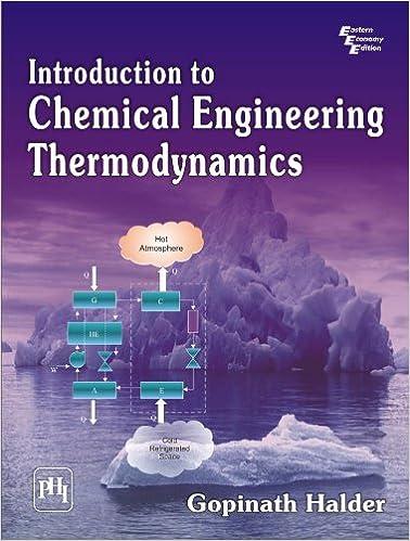 Chemical Engineering Thermodynamics Ebook
