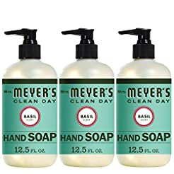 Mrs. Meyer s Clean Day Hand Soap, Basil,...
