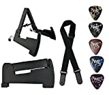 Xtag Guitar Stand For Acoustic Guitar Electric Guitar & Bass guitar Foldable.