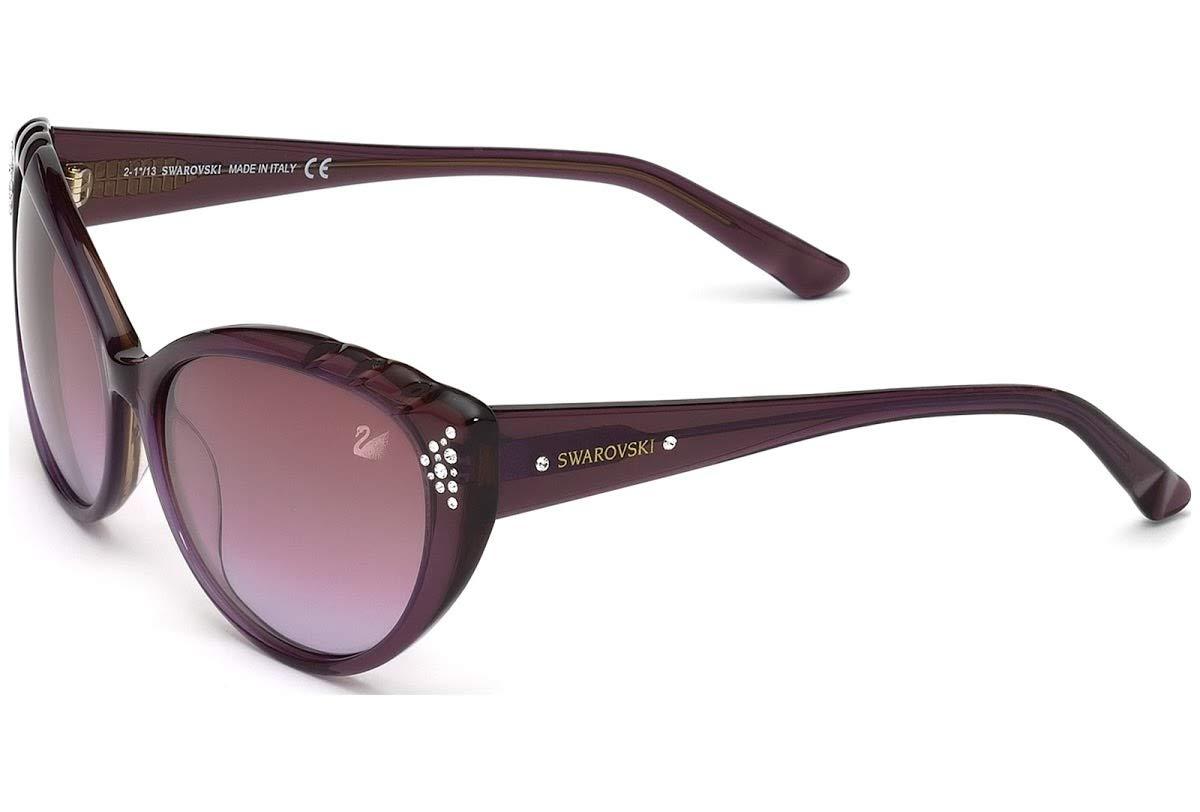 e999e5811af7 SWAROVSKI for woman SK0055-83T Designer Sunglasses Caliber 58: Amazon.ae