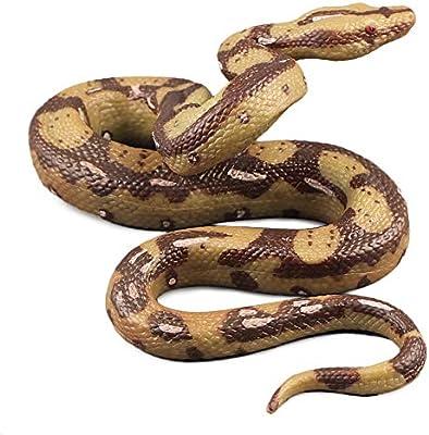 Fake Snake Prop Rubber Prank Halloween Toy Realistic Garden Joke Reptile Props