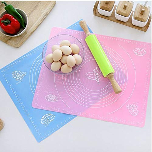Xacton Non-Stick Silicone Reusable Pastry Rolling Mat with Measurements, Diameter: 6-14-inch (Multicolour) Price & Reviews
