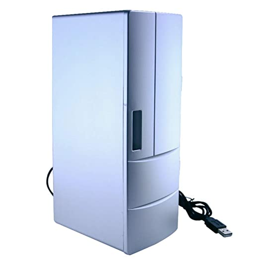 HWG Mini Frigorífico Refrigerador del Automóvil Interfaz USB Caja ...