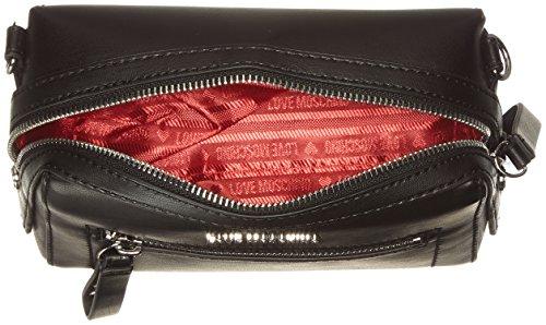 Nero Bolsos black Nappa Baguette Borsa Mujer Pu Cm Negro X Soft T H 6x16x20 b Moschino Love vqXWFHx