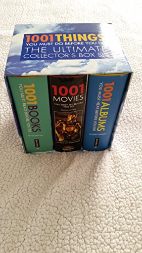 1001 Things You Must Do Before You Die - Box Set