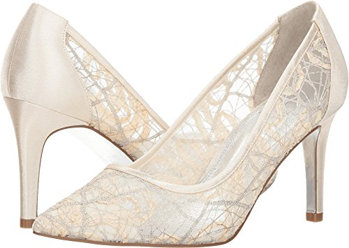 Adrianna Papell Women's Hazyl Ivory Chagall Lace 6.5 M US