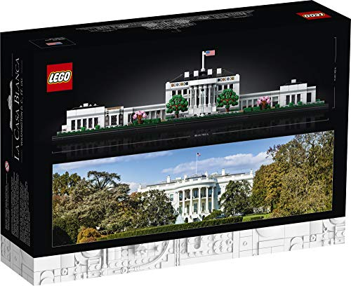 LEGO Architecture Collection: The White House 21054 Model Building Kit, Creative Building Set for Adults, A Revitalizing…