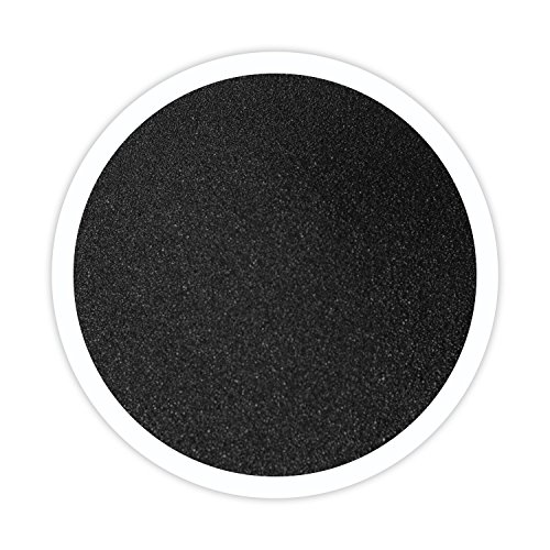 (Sandsational Black Unity Sand, ~1.5 lbs (22 oz), Colored Sand for Weddings, Vase Filler, Home Décor, Craft Sand)