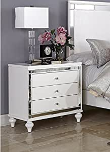 white bedroom furniture alonza nightstand
