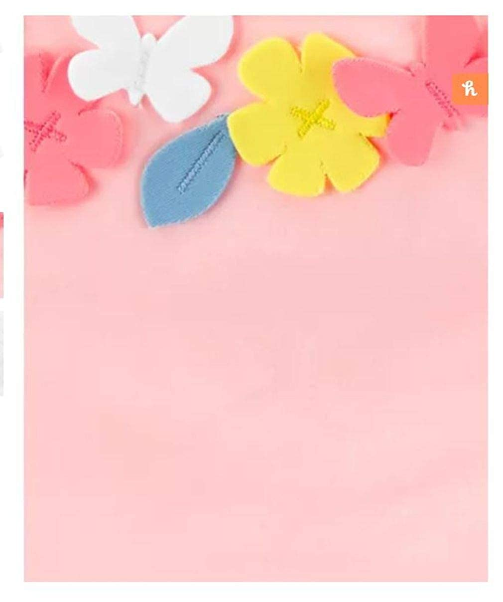 Carters Baby Girls 2 Piece Flower Swimsuit /& Cover-up Set 6 Months