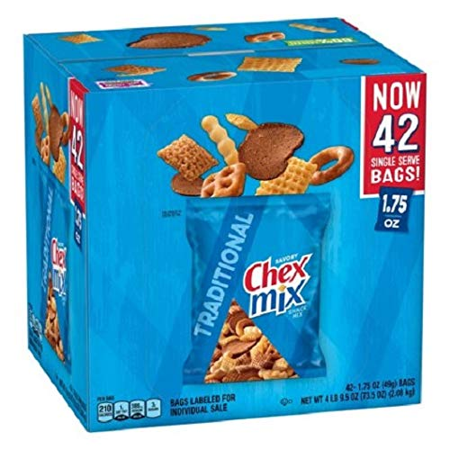 Chex Mix Traditional Savory Snack Mix 36 ct by Chex Mix
