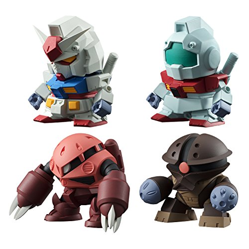 Bandai-Shokugan-Build-Model-Gundam-Mobile-Suit-Gundam-Action-Figure-Pack-of-10
