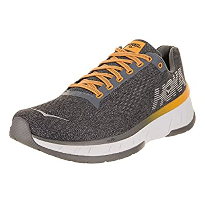 HOKA ONE ONE Men's Cavu Running Shoe Alloy/Nine Iron Size 10 D US | Running