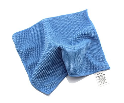 - Mcsher Microfiber Cleaning Cloths - 6 Pack, Blue, 6