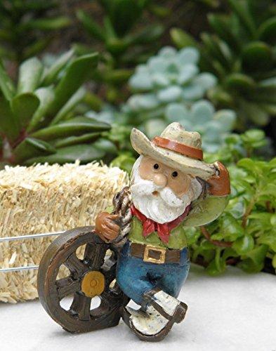 Miniature Dollhouse Fairy Garden Wild West Western Cowboy