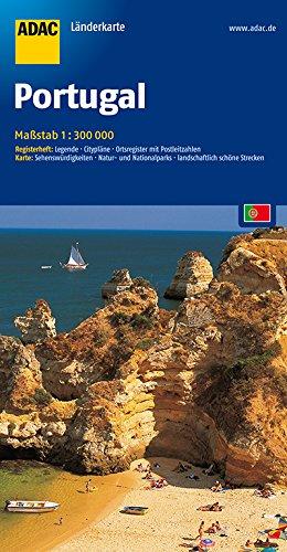 ADAC-Länderkarte: Portugal 1:300.000 (ADAC Länderkarten) Broschiert – 24. Mai 2018 3826414357 Karten / Stadtpläne / Europa Spanien Landkarte