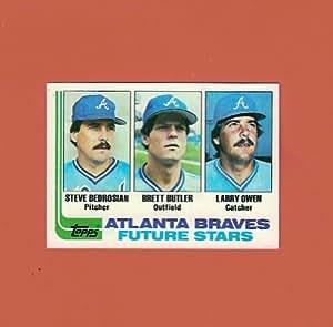 Steve Bedrosian 1982 Topps Baseball Rookie (Atlanta Braves