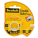 Scotch Double-Sided Tape, 12.7 mm x 11.4 m - 1 Dispensered Roll
